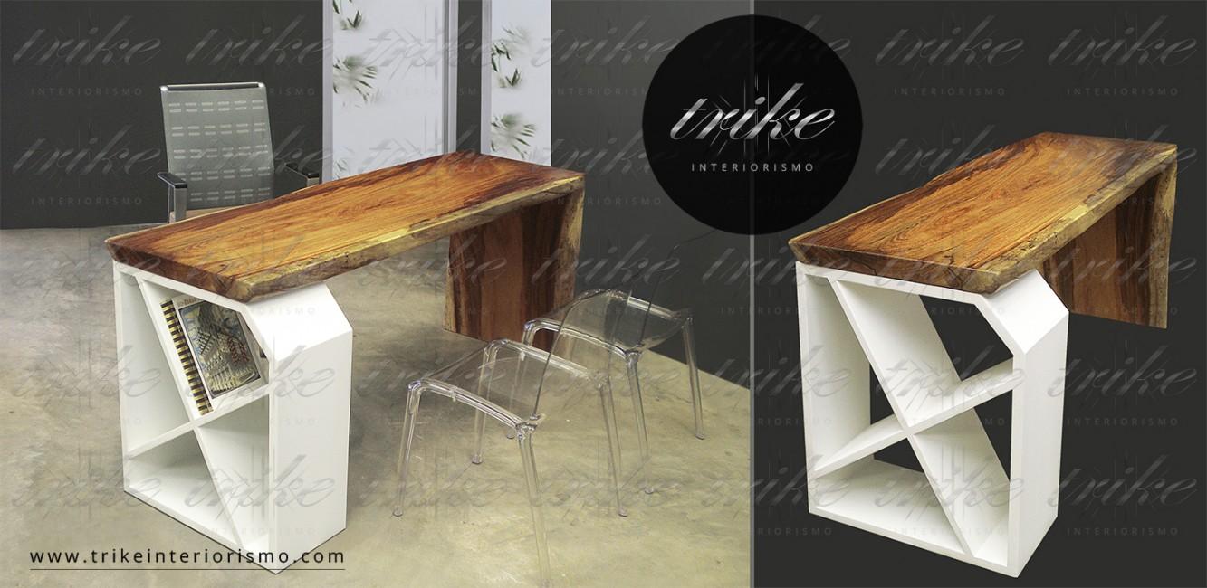 Escritorio_madera_parota_guamuchil_acero_cormado_organico_natural_interiorismo_decoracion_texturas_furniture_organic_muebles
