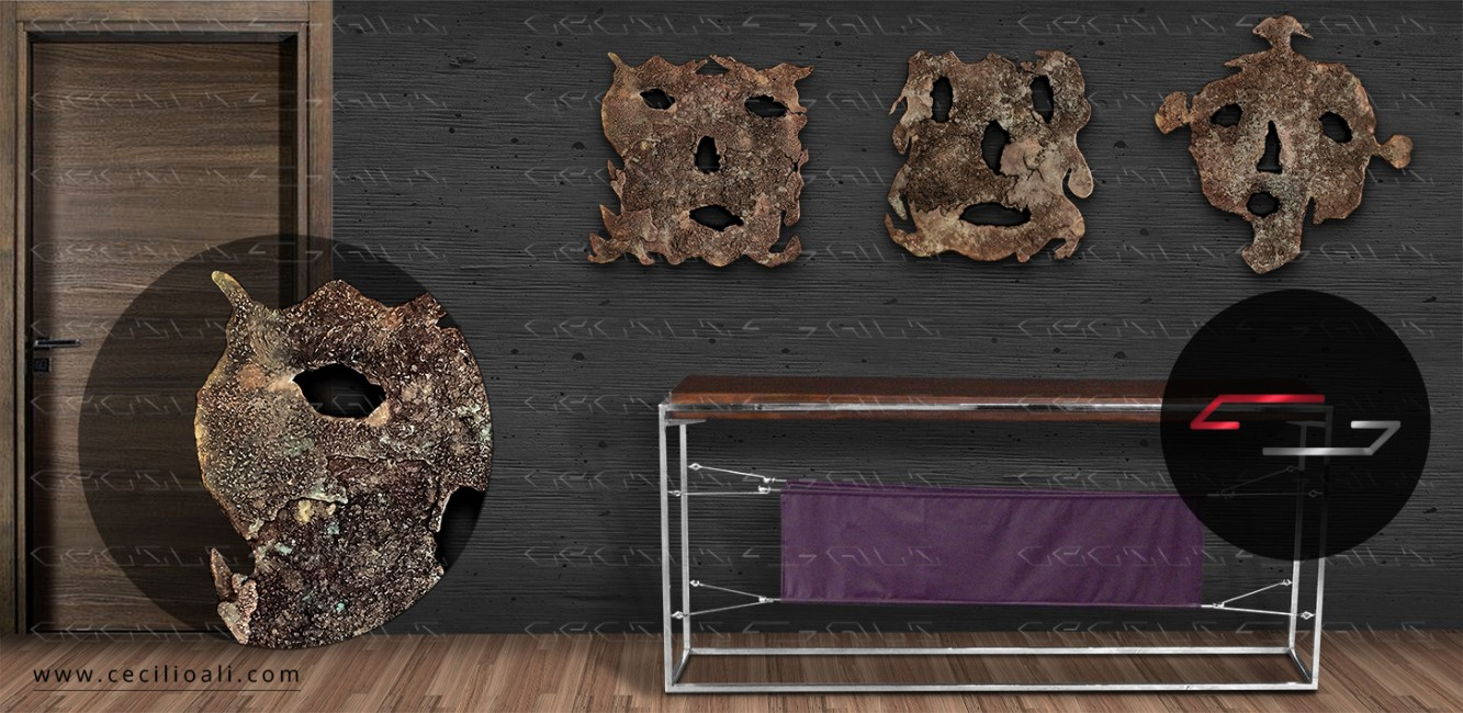 Esculturas_bronce_fundido_patinado_arte_galeria_decoracion_objeto_contemporaneo_organico_metal_artista_mexicano_cecilio_ali