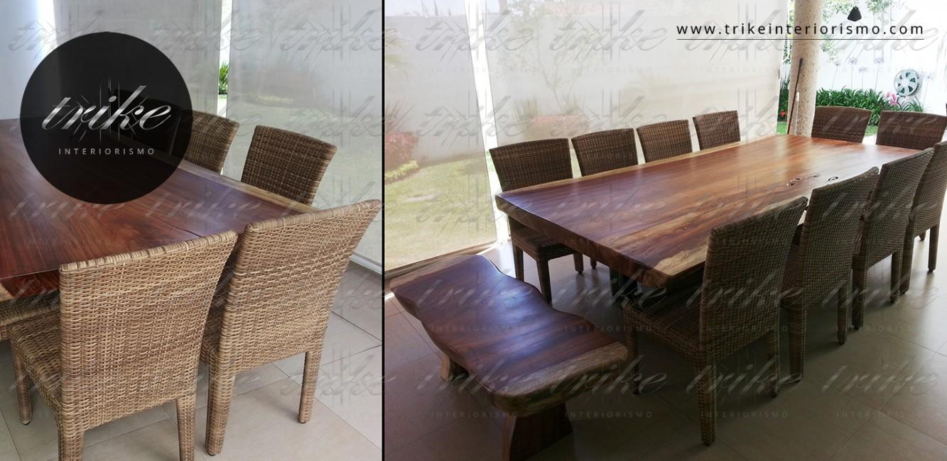 Mesa_Tablon_Banca_PAROTA_decoracion_muebles_cuernavaca_interiorismo_natural_organico_raices