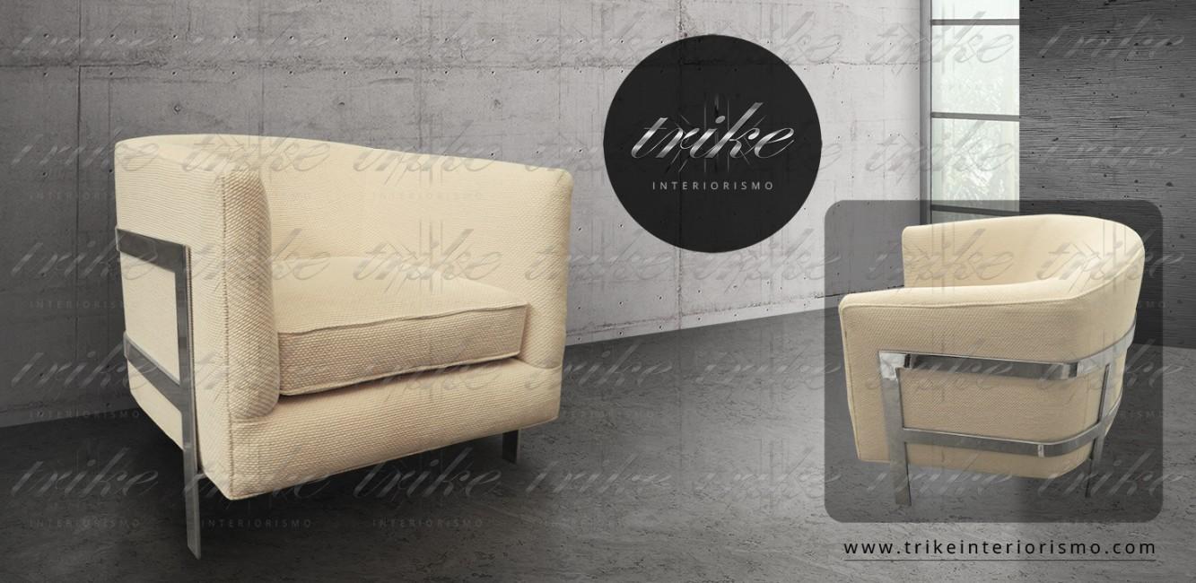 Sillon_Tela_aluminio_decoracion_muebles_interiorismo